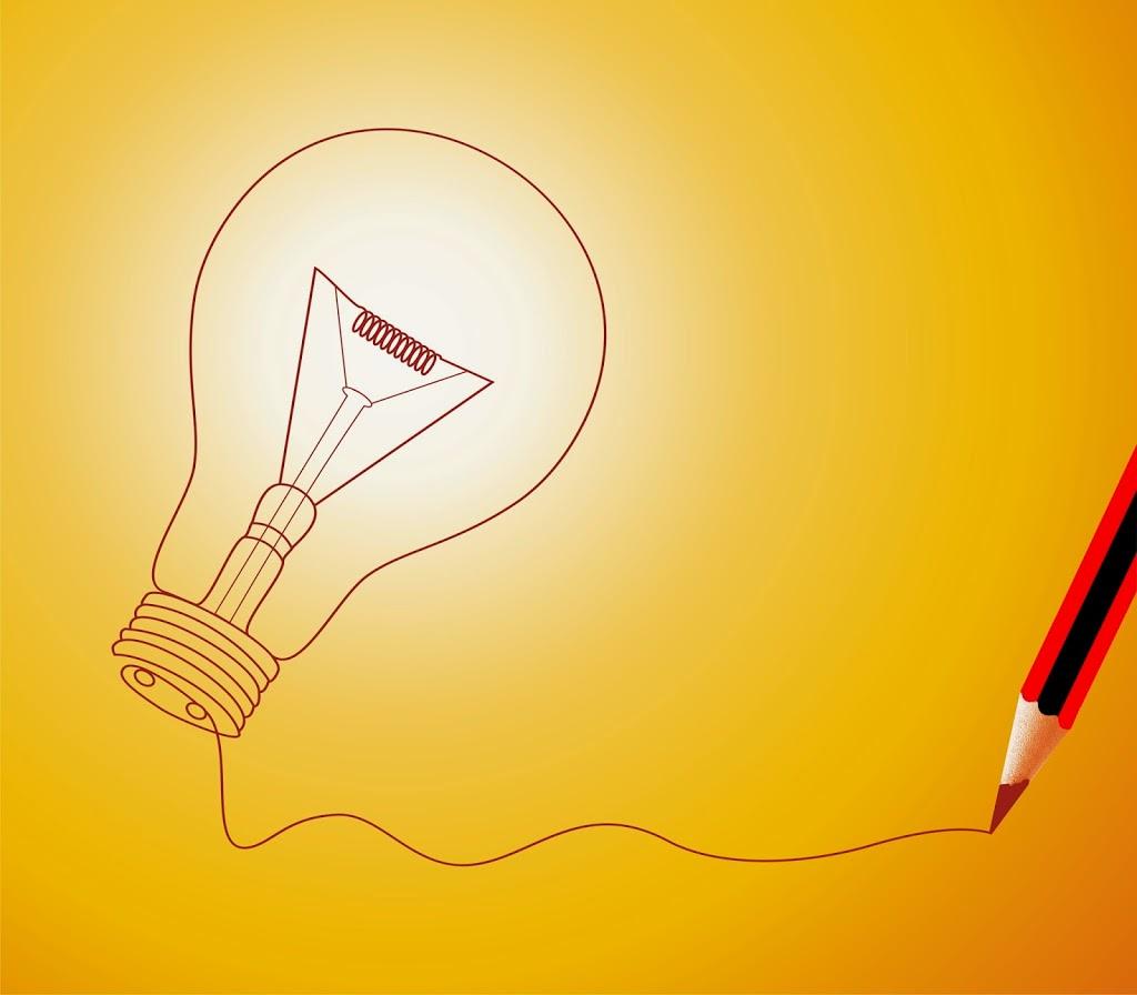creatief, lightbolb